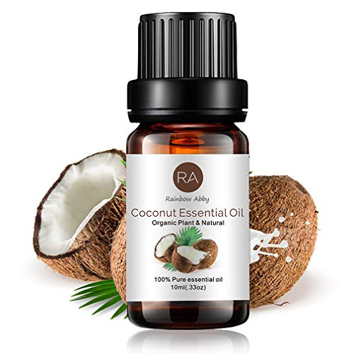 Coconut Essential Oil 100% Pure Natural Aromatherapy Oils for Diffuser, Soaps, Candles, Massage, Lotions, Perfume - 10ml/0.33oz