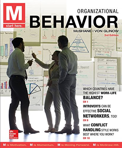 Mcshane, S: M: Organizational Behavior