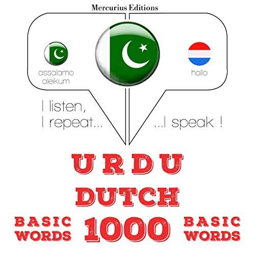 Urdu – Dutch. 1000 basic words cover art