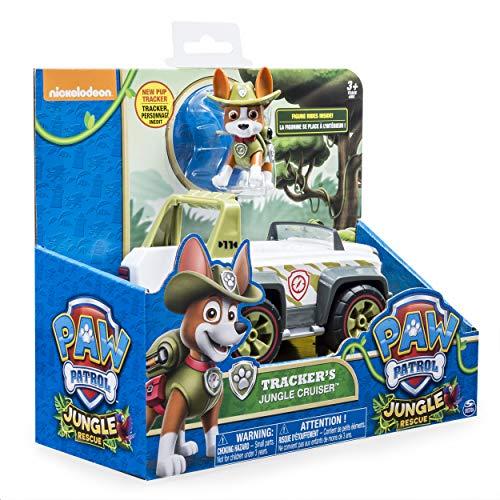 Patrulla Canina 6026601 - Figura de Jungle Rescue Paw, Multicolor