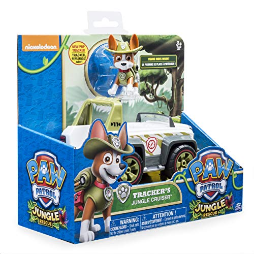 Patrulla Canina 6026601 - Figura de Jungle Rescue Paw, Multicolor