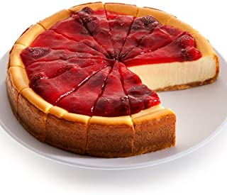 NY Strawberry Topped Cheesecake - 9 Inch