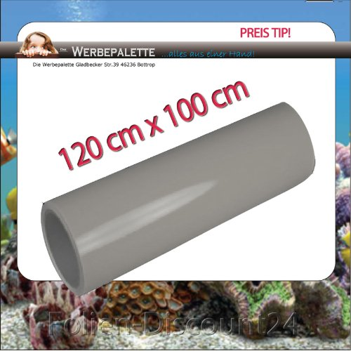 (EUR 5,75 / vierkante meter) Aquarium Terrarium achterwand folie grijs 120cm x 100cm TOP ! Prijs