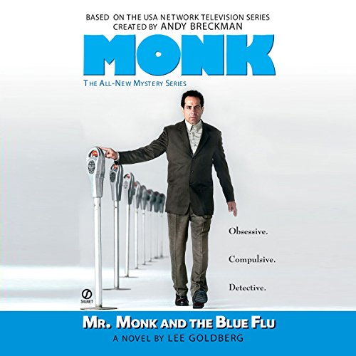 Mr. Monk and the Blue Flu audiobook cover art