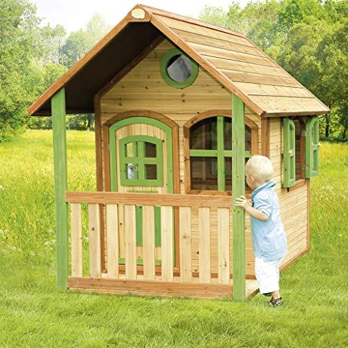 Axi speelhuisje voor kinderen Alex met terras