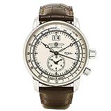 [ツェッペリン] 腕時計 100周年モデル シルバー文字盤 7640-1N 並行輸入品 ブラウン