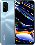 "realme 7 Pro Mirror Silver, 8+128GB, 6.4"" AMOLED Full Screen Display, Quad Camera, 4500mAh Battery with 65W Dart Charge, Sim Free Smartphone, Dual Sim, UK Plug and Full UK Warranty"