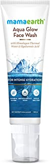 Mamaearth Aqua Glow Face Wash With Himalayan Thermal Water and Hyaluronic Acid for Intense Hydration – 100ml