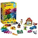LEGO Classic - Diversión Creativa, Juguete Creativo con Piezas de Construcción para Niños y Niñas de más de 4 Años con Ladrillos y Elementos como Ruedas y Ventanas (11005)