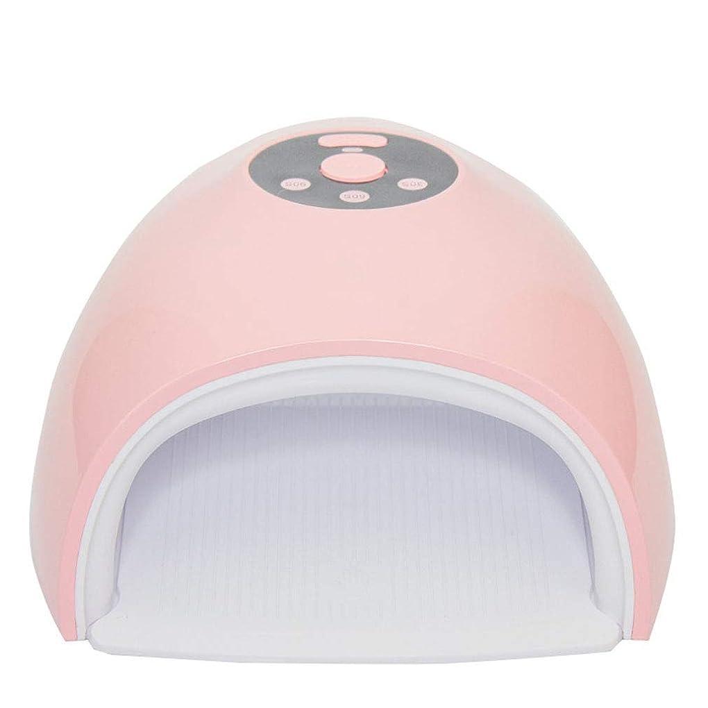 アルカトラズ島一杯荒野36ワットネイルドライヤーUV ledランプ用すべてのゲルuvランプ30秒/ 60秒/ 90秒タイマー用マニキュアキュア機用自動センサーマニキュアツール,Pink