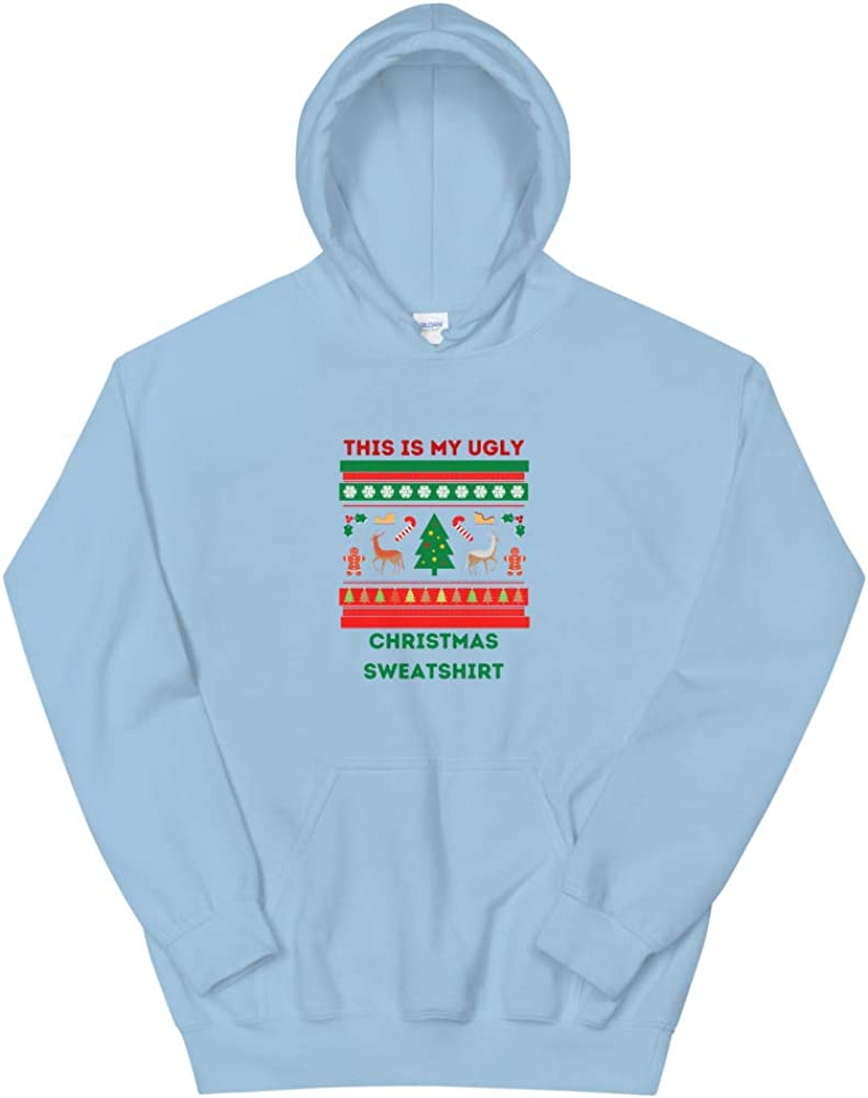 This is my ugly Christmas Dallas Mall Sweatshirt Arlington Mall Hoodie Blue Light Unisex