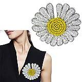 Parches hechos a mano con cuentas de flores para ropa, manualidades, lentejuelas, cosido, bordado, aplique de estrella, parche de 2 piezas N.º 2