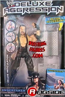 WWE JAKKS UNDERTAKER DELUXE AGGRESSION 8 FIGURE
