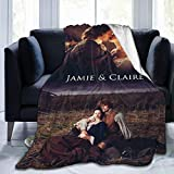 TV Show Ou-tlan-der Jamie And Claire love Weighted Blanket Quilt Ultra Soft comfy Warm Anti-pilling Fleece Blanket All Seasons Bedroom Bed And Sofa Outdoor Beach Throw Blanket For kids Adult 60'x50'