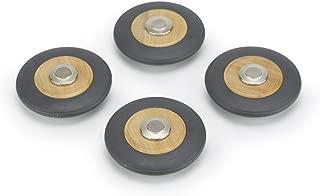 4 Pack Tegu Magnetic Wooden Speed Wheels