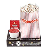 Movie Night Snack Trays (set of 12) Includes cup holder, a pocket for popcorn and place for candy -...