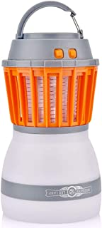 Jacson 5 Bug Zapper Lamp-Mosquito Zapper Lamp-2-In-1 Zapper Lantern for USB Outdoor Camping Equipment and Accessories for Outdoor and Emergency Situations - IP67 Waterproof Compact -2200Mah