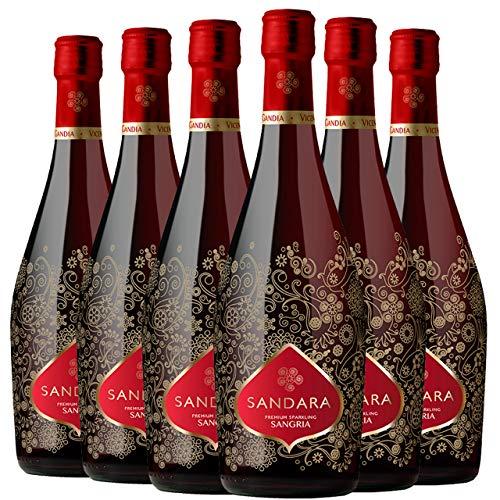 Sandara Premium Sangria Espumoso 6 Botellas - 750 ml