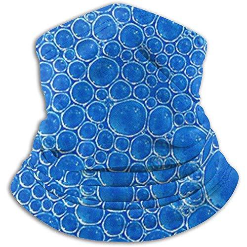 GWrix Tube Neck Gaiter, Mannen Vrouwen Balaclava, Winddicht Gezichtsmasker, Blauwe Bubbels Tube Neck Gaiter, Mannen Vrouwen Balaclava, Winddicht Gezichtsmasker