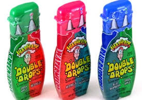 Warheads Double Drops Liquid 28g x3
