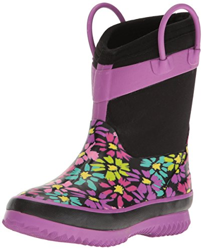 Western Chief Kids Cold Rated Neoprene Boot, Daisy Shower, 13/1 M US Little Kid