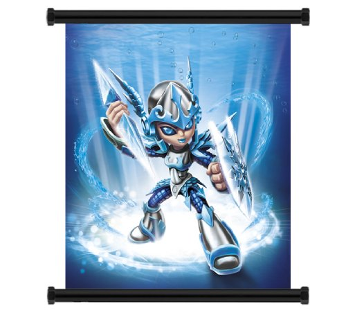 Skylanders Giants Game Fabric Wall Scroll Poster (32' x 32') Inches