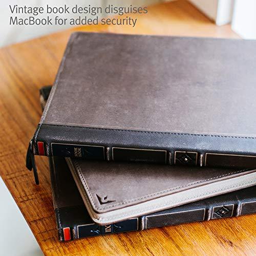 Twelve South BookBook V2 for MacBook   Vintage leather book case/sleeve with interior pocket for 15