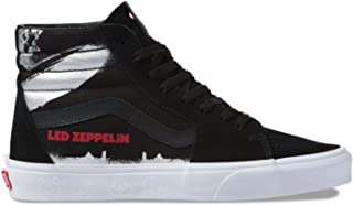 Unisex x Led Zeppelin Sneaker Collab Black/True White/Sk8-Hi 7 Women / 5.5 Men M US
