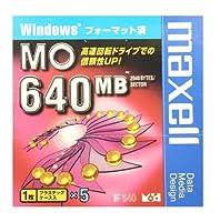 Windowsフォーマット済み640MB MOメディア 5枚パック maxell MA-M640.WIN.B1P5