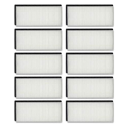 WuYan 10 filtros Hepa para Ecovacs Deebot N79S N79 para Eufy RoboVac 11 11C para CONGA EXCELLENCE 990