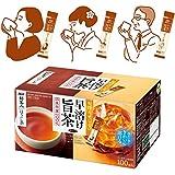 AGF 新茶人こうばしほうじ茶スティック 100本 【 お茶 スティック 】【 ほうじ茶 粉末 】【 ティーバッグ不要 】