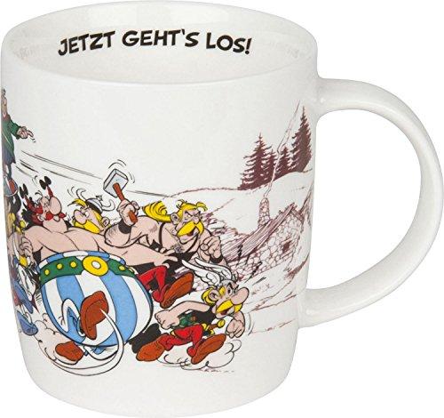 Könitz Becher Asterix - Jetzt geht's los!