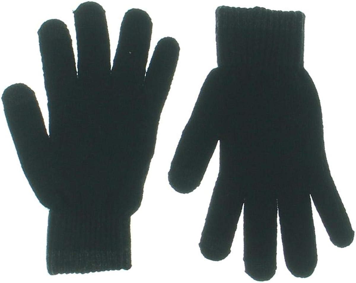 Alfani Mens Knit Touchscreen Winter Gloves Black O/S