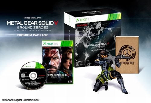Metal Gear Solid V Ground Zeroes - Amazon.co.jp Limited Edition - Xbox 360 [import Japon]
