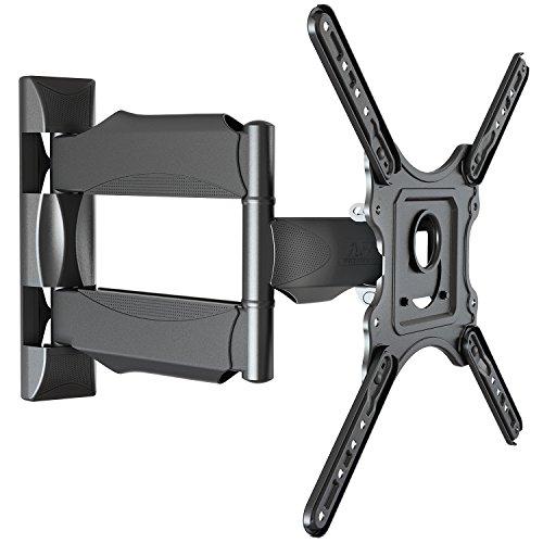 SP400,Schwenkbar Neigbar TV Wandhalterung für 32-47 Zoll Fernseher max. 27.3kg(destructive test 81.9kg)schwarz