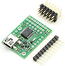 Pololu Micro Maestro 6-Channel USB Servo Controller (Partial Kit) (Item: 1351)