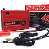 (TWO Emergency Plan in ONE) Car Jump Starter with Air Compressor, 400 AMP Smart Jump Cable, Compressed Air hose and Digital Pressure Gauge, 14000mAh Battery Jump Pack, Built-in USB Ports, LED Light