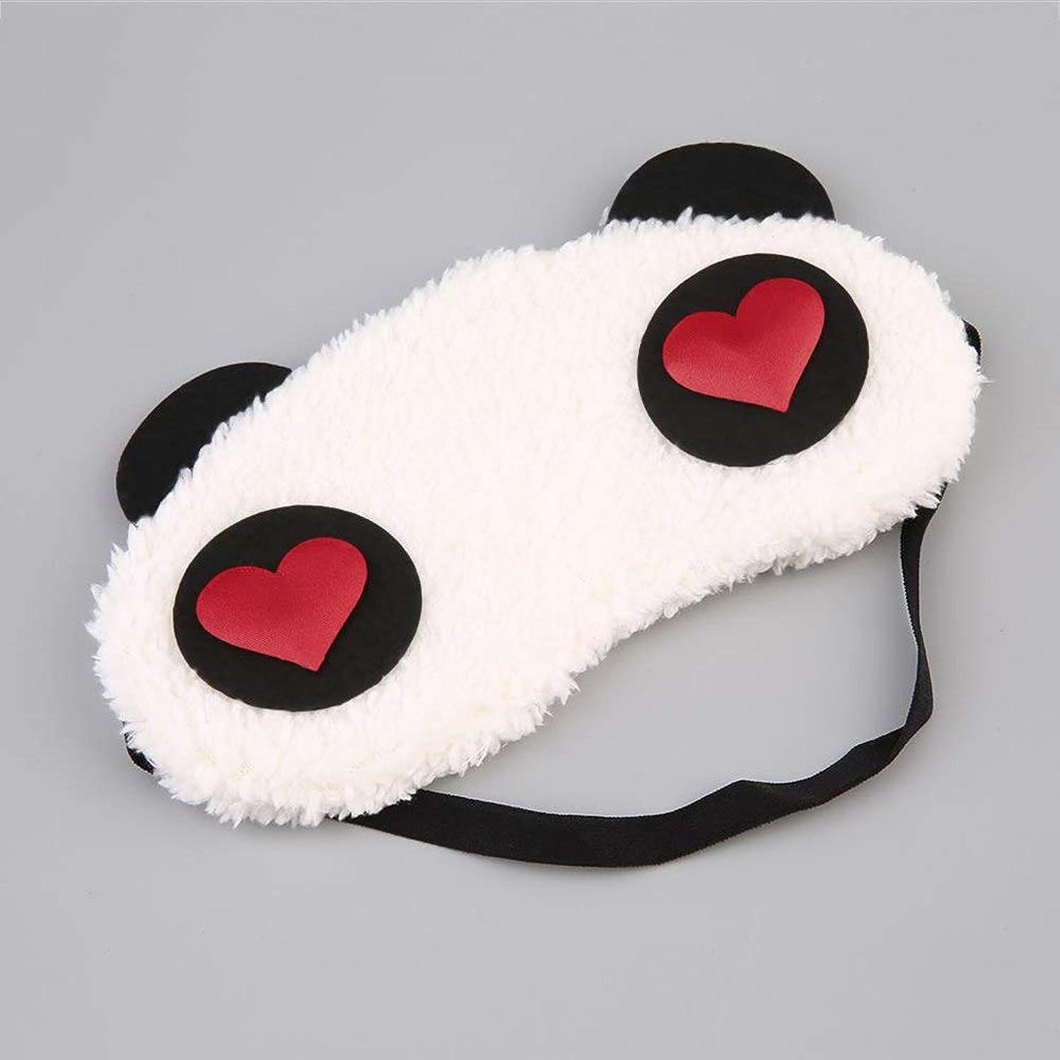 NOTE かわいいパンダの睡眠マスクおかしい睡眠アイマスクアイシェードカバーシェードアイパッチクリエイティブ旅行リラックス睡眠補助目隠し