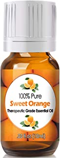 Sweet Orange Essential Oil for Diffuser & Reed Diffusers (100% Pure Essential Oil) 10ml