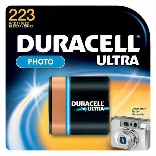 Duracell® Ultra High-Power Lithium Batteries, Model: DL223ABPK, Gadget und Electronics Store