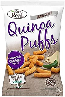 Eat Real Quinoa Puffs Jalapeno Flavour 113g