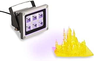 UV Resin Curing Light for SLA/DLP 3D Resin Printer Solidify Photosensitive Resin 405nm UV Resin Affect, 60 Watts, DIY Curing Enclosue