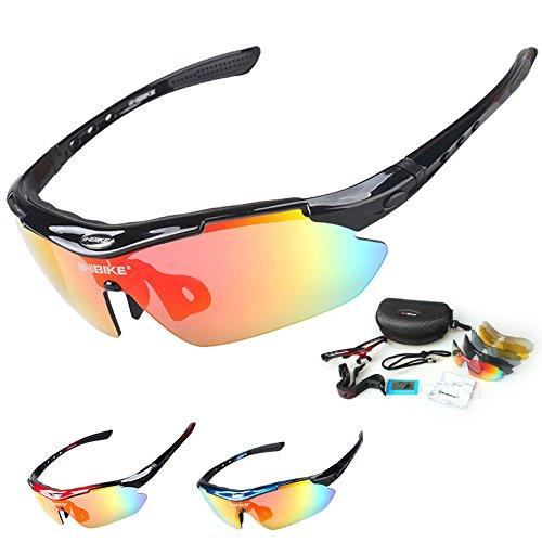 Gafas de ciclismo INBIKE a prueba de rayos UV, polarizadas c