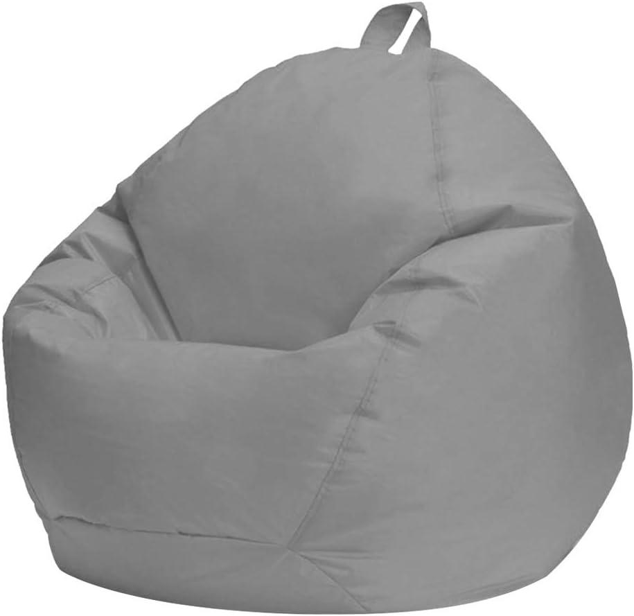 Rangement pour Animaux en Peluche ou Housse de Remplacement pour Pouf en Mousse /à m/émoire Housse de Meuble Lavable pour Enfants Adultes WERTAZ Housse de Chaise Bean Bag