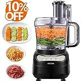 Küchenmaschine, AICOK 2.3L Food Processor, 750W Elektrische Reibe, Fleisch Zerkleinerer inkl...