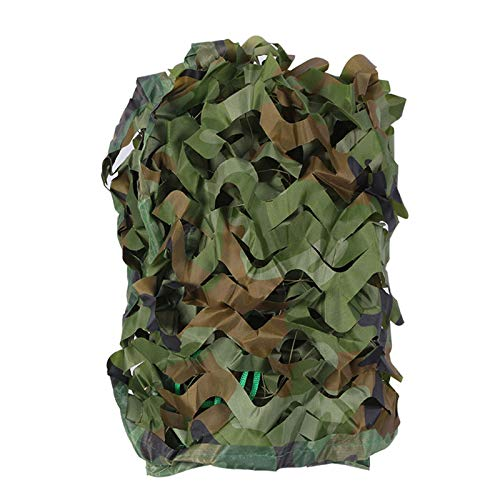 GXING Woodland Camping Camo Net, Military Hunting Shooting Camouflage Netting, Professional Camo Netting, Sunscreen Nets Lightweight