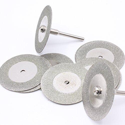 10 Stück Mini Diamant Trennscheiben Ø 50mm Trennscheiben Diamanttrennscheibe für Dremel/Proxxon