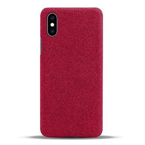 Suhctup - Funda para Asus Zenfone Max Pro (M1) ZB601KL de tela de alta calidad, carcasa de protección anticaída con absorción de golpes fina de TPU – Rojo