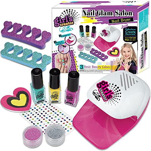 STAY GENT Nail Varnish Set Kids Nail Art Kit Washable Make Up Sets for...