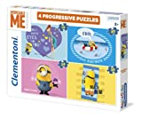 MINIONS - Puzzle Progresivo (Clementoni 21507.2)